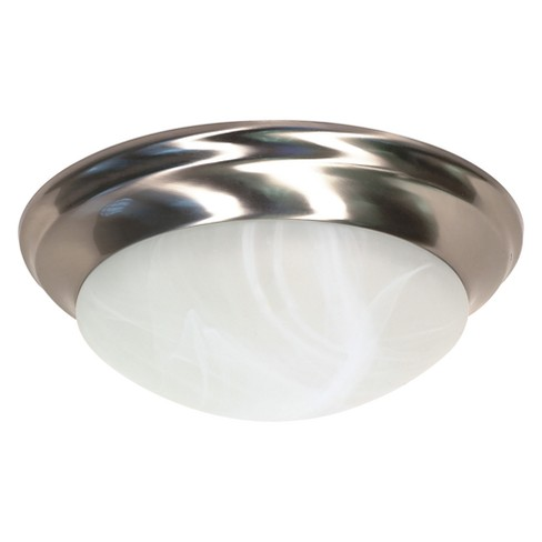 Ceiling Lights Flush Mount Brushed Nickel - Aurora Lighting - image 1 of 1