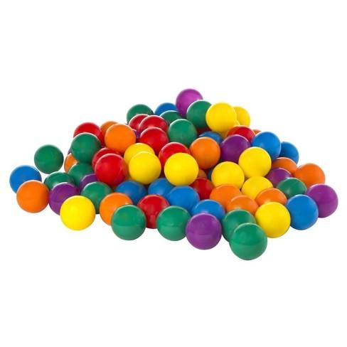 Intex 100-Pack Large Plastic Multi-Colored Fun Ballz - image 1 of 4