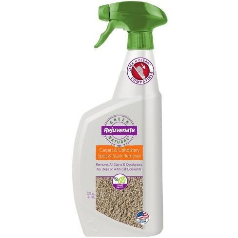 Rejuvenate Naturals Carpet and Upholstery Spot and Stain Remover 32oz - image 1 of 4