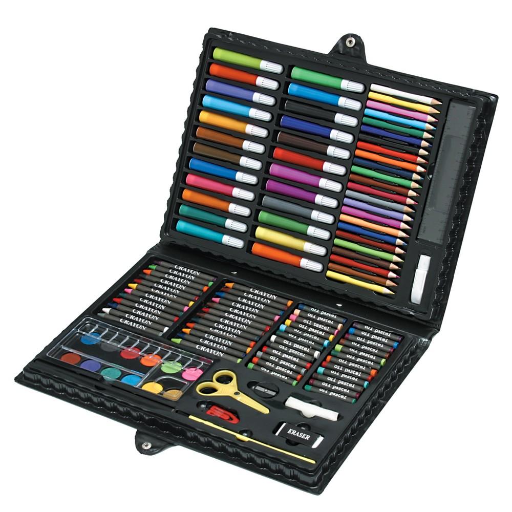 Deluxe Art Set 120pc - Nicole, Multi-Colored