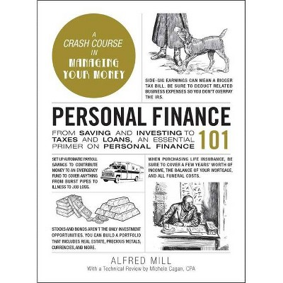 Personal Finance 101 - (Adams 101) by Alfred Mill (Hardcover)