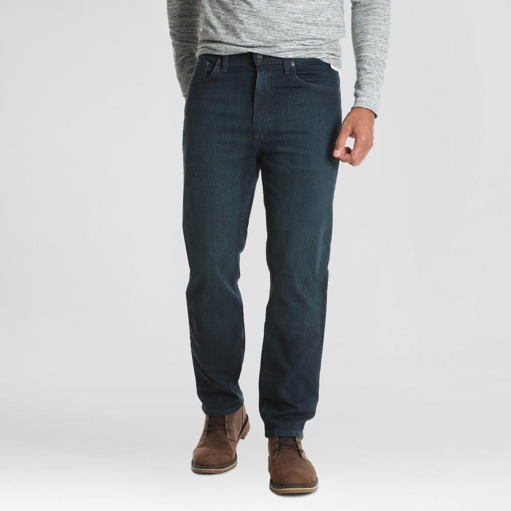 Wrangler Men's Regular Straight Fit Performance Series Jeans with Flex - Dark Denim Wash 30x30