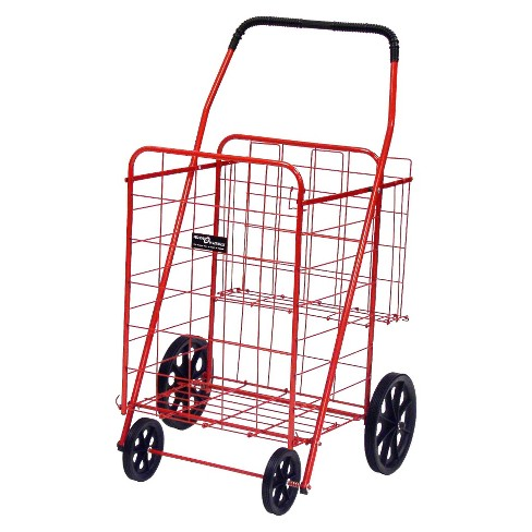 Narita Jumbo Shopping Cart Plus, Red - image 1 of 1