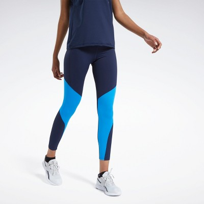 Reebok Lux Bold 2 Mesh Leggings Womens Athletic Leggings