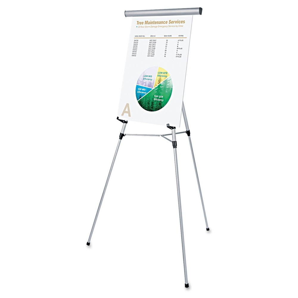 Image of Professional Easel Silver Universal Office