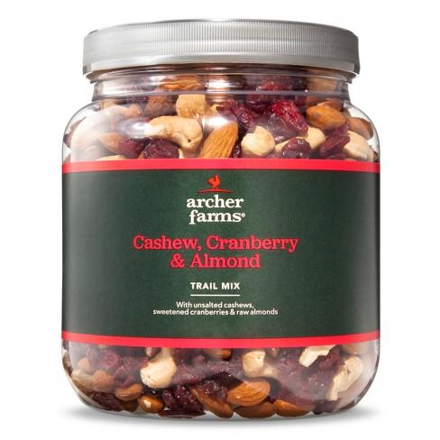 Cashew Cranberry & Almond Trail Mix - 30oz - Archer Farms™
