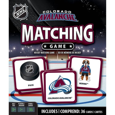 NHL Colorado Avalanche Matching Game - image 1 of 3