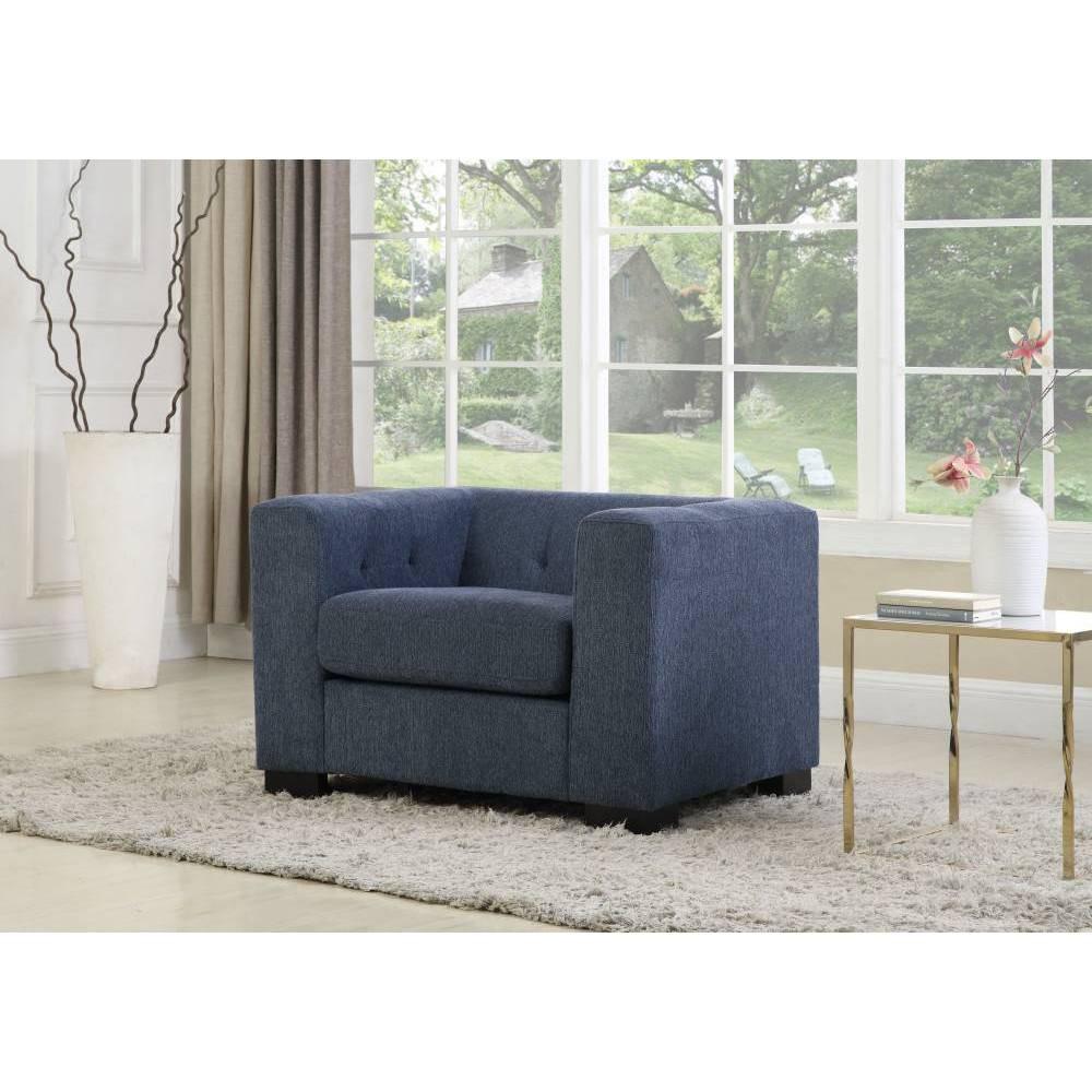 Seto Club Chair Blue Chic Home Design