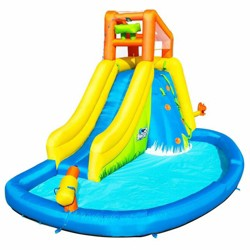 Bestway H2OGO! Mount Splashmore Kids Inflatable Water Splash Park with Slide