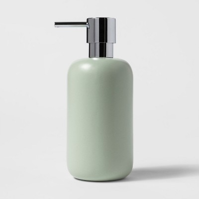 Ceramic Soap/Lotion Dispenser Silver Green - Project 62™