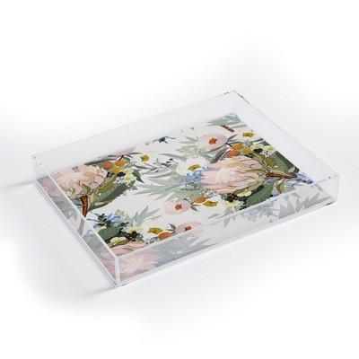 Iveta Abolina Protea Emmaline Acrylic Tray - Deny Designs