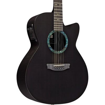RainSong CO-WS1000N2 Concert Series Graphite Acoustic-Electric Guitar Carbon