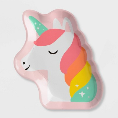 10ct New Unicorn Snack Plate - Spritz™
