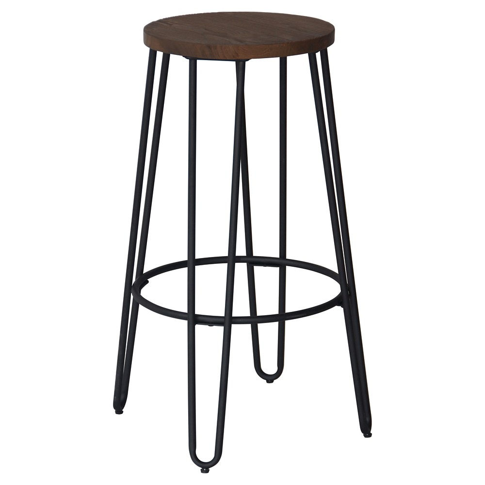 "Image of ""29"""" Quinn Barstool Black - Reservation Seating"""