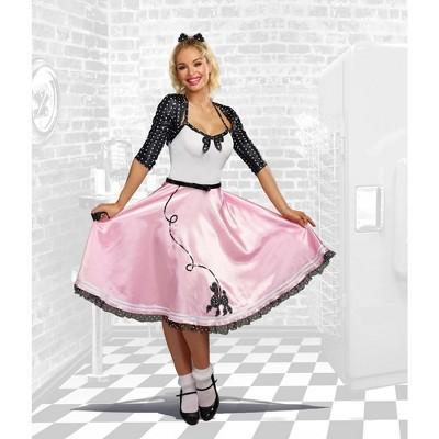 Dreamgirl Rock Around the Clock Women's Costume: Medium