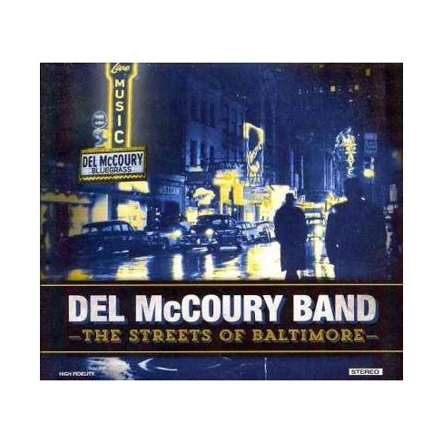 Del McCoury - Streets Of Baltimore (CD) - image 1 of 1