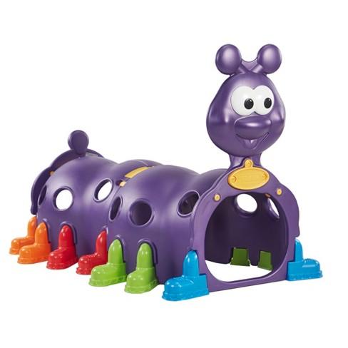 ECR4Kids Indoor/Outdoor Caterpillar Plastic Climbing Play Structure for Kids - image 1 of 4
