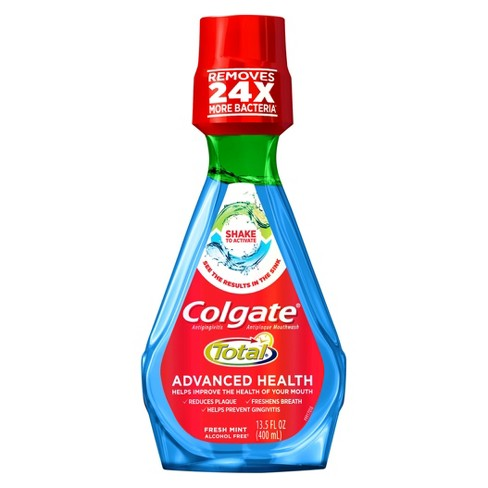 Colgate Total Advanced Health Mouthwash Fresh Mint - 400ml - image 1 of 3