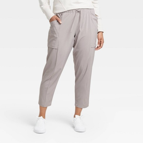 "Women's Stretch Woven Tapered Leg Pants 26"" - All in Motion™ - image 1 of 4"