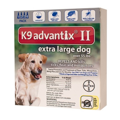 Dog Medication & Health Supplies: Bayer K9 Advantix II