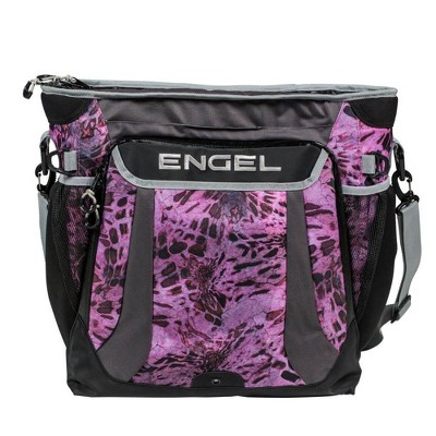 Engel Prym1 5.7 Gal Backpack Ice Cooler with 24 Can Capacity, Pink Out Camo