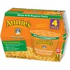 Annie's Real Aged Cheddar Single Serving Microwavable Macaroni & Cheese Cup 4 ct - image 3 of 3