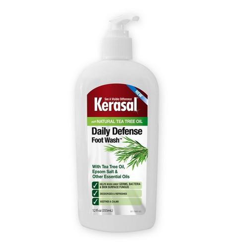 Kerasal Daily Defense Foot Wash - 12 fl oz - image 1 of 4