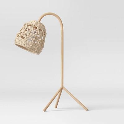 Seagrass Karina Tripod Task Lamp Natural (Includes Energy Efficient Light Bulb)- Opalhouse™