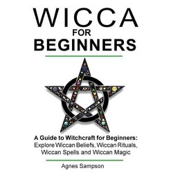 Wicca Book Of Candle Spells - By Lisa Chamberlain (Paperback