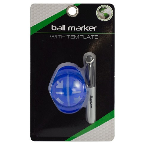 Jef world of golf golf ball marker target about this item maxwellsz