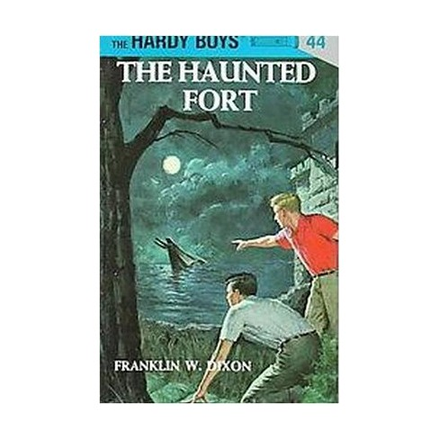 Hardy Boys 44: The Haunted Fort - by  Franklin W Dixon (Hardcover) - image 1 of 1
