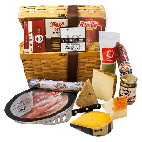igourmet Ultimate Charcuterie and Cheese Treasure Chest - image 1 of 1