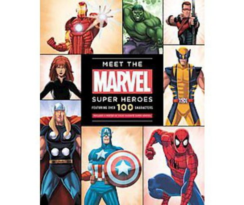 Meet the Marvel Super Heroes (Hardcover) by Scott Peterson - image 1 of 1