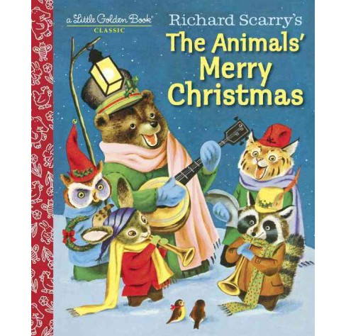 Richard Scarry's The Animals' Merry Christmas (Hardcover) (Kathryn Jackson) - image 1 of 1