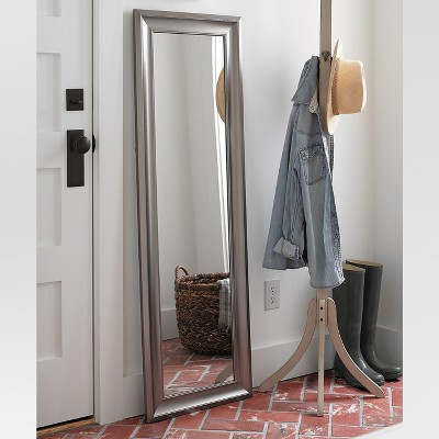 Rectangle Over-the-Door Mirror Silver - MCS