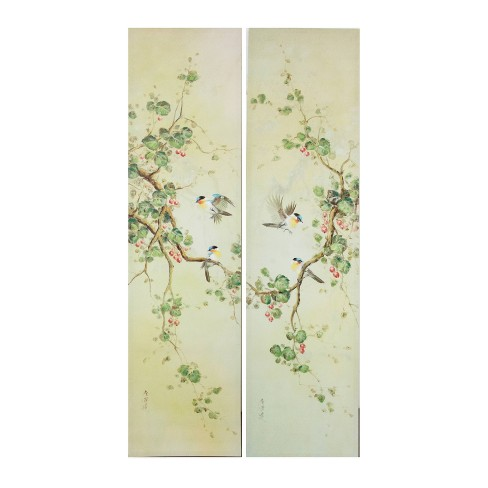 """(Set of 2) 59"""" Wall Art Ivory - A&B Home - image 1 of 1"""