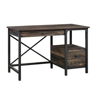 Steel River Desk Carbon Oak - Sauder