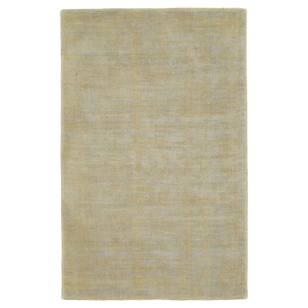 Citron Solid Woven Area Rug - (9'6