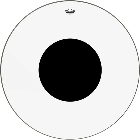 Remo Controlled Sound Clear with Black Dot Bass Drum Head - image 1 of 2