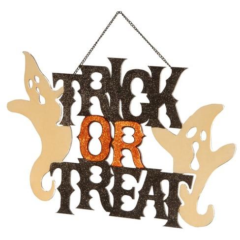 Trick-or-Treat Halloween Door Hanger - image 1 of 1