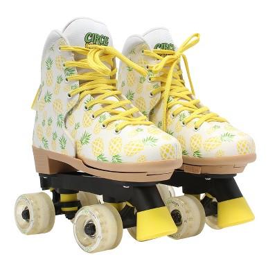 Circle Society Craze Adjustable Skate - Crushed Pineapple 3-7