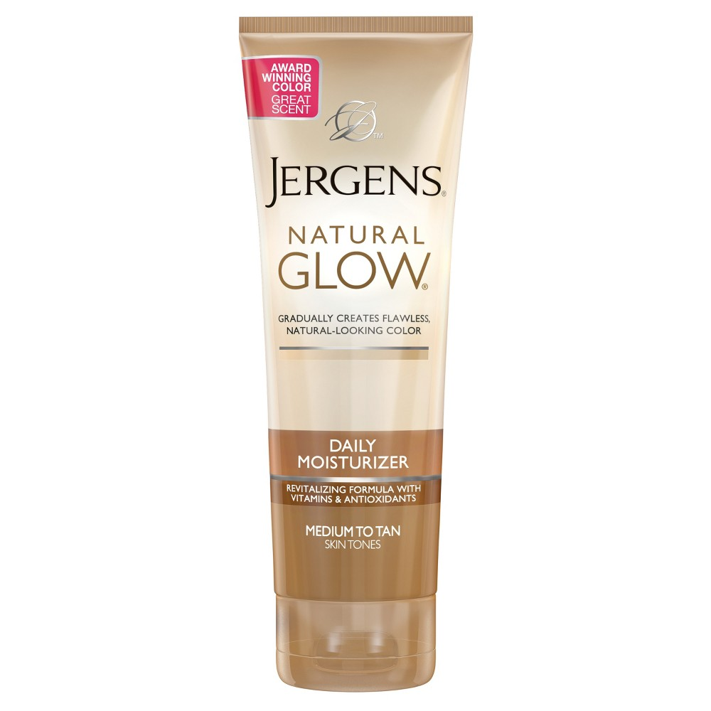 Image of Jergens Natural Glow Daily Moisturizer Medium To Tan Skintone - 7.5 fl oz, Medium/Tan