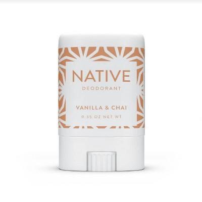 Native Limited Edition Holiday Vanilla & Chai Mini Deodorant - 0.35oz