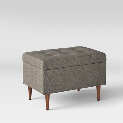 Bon Lemoor Mid Century Ottoman With Storage   Project 62™ : Target