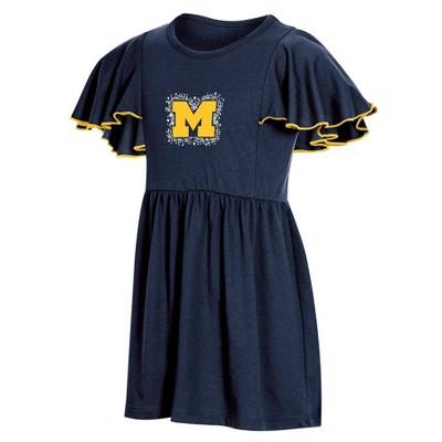 NCAA Michigan Wolverines Girls' Toddler Dress