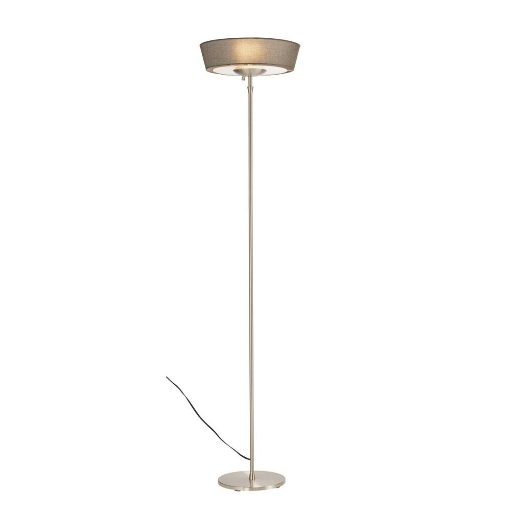 Image of Adesso Harper Floor Lamp - Silver