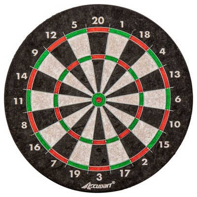 """Accudart 18"""" Bristle Dartboard with Printed Numbers"""
