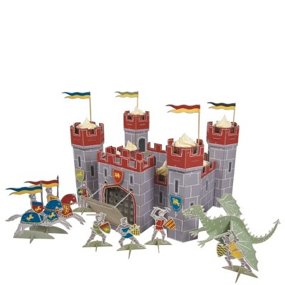 """Meri Meri Brave Knights Table Centerpiece – Party Decorations and Accessories – 10.5"""" x 17"""" x 17"""""""