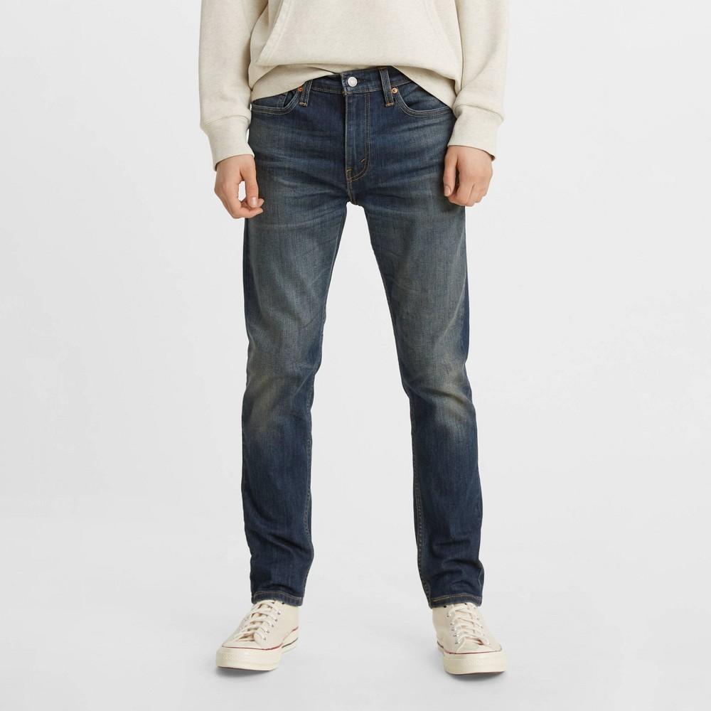 Levi 39 S 174 Men 39 S 510 8482 Slim Fit Skinny Jeans Blue 34x32