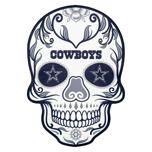 cc4bc6627d1ae3 NFL Dallas Cowboys Small Outdoor Skull Decal   Target
